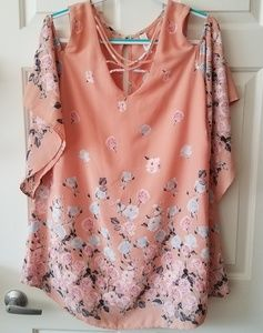 My Story Cold Shoulder Top/Tunic